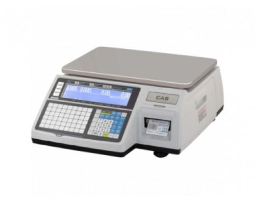 Весы с печатью этикеток CAS CL3000-15B